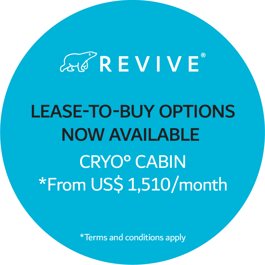 Lease-to-buy options now available. Cryo° cabin *From US$ 1,510/month