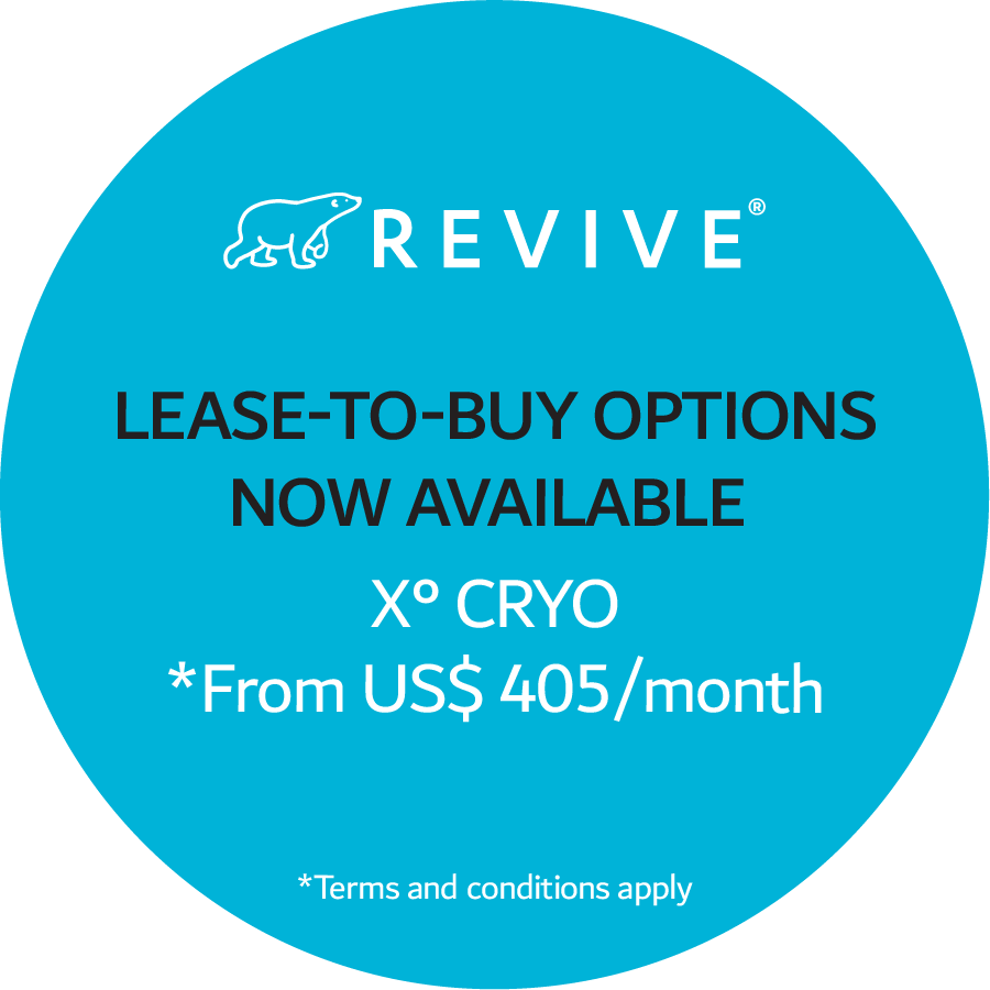 Lease-to-buy options now available. X° Cryo *From US$ 405/month